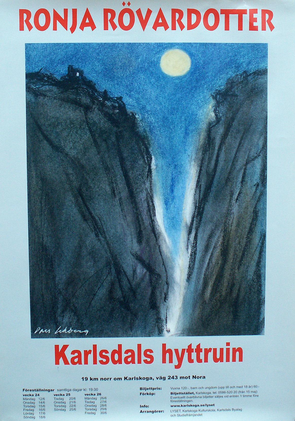 Karlsdals Byalag Bjöd På Helvetes Gapet
