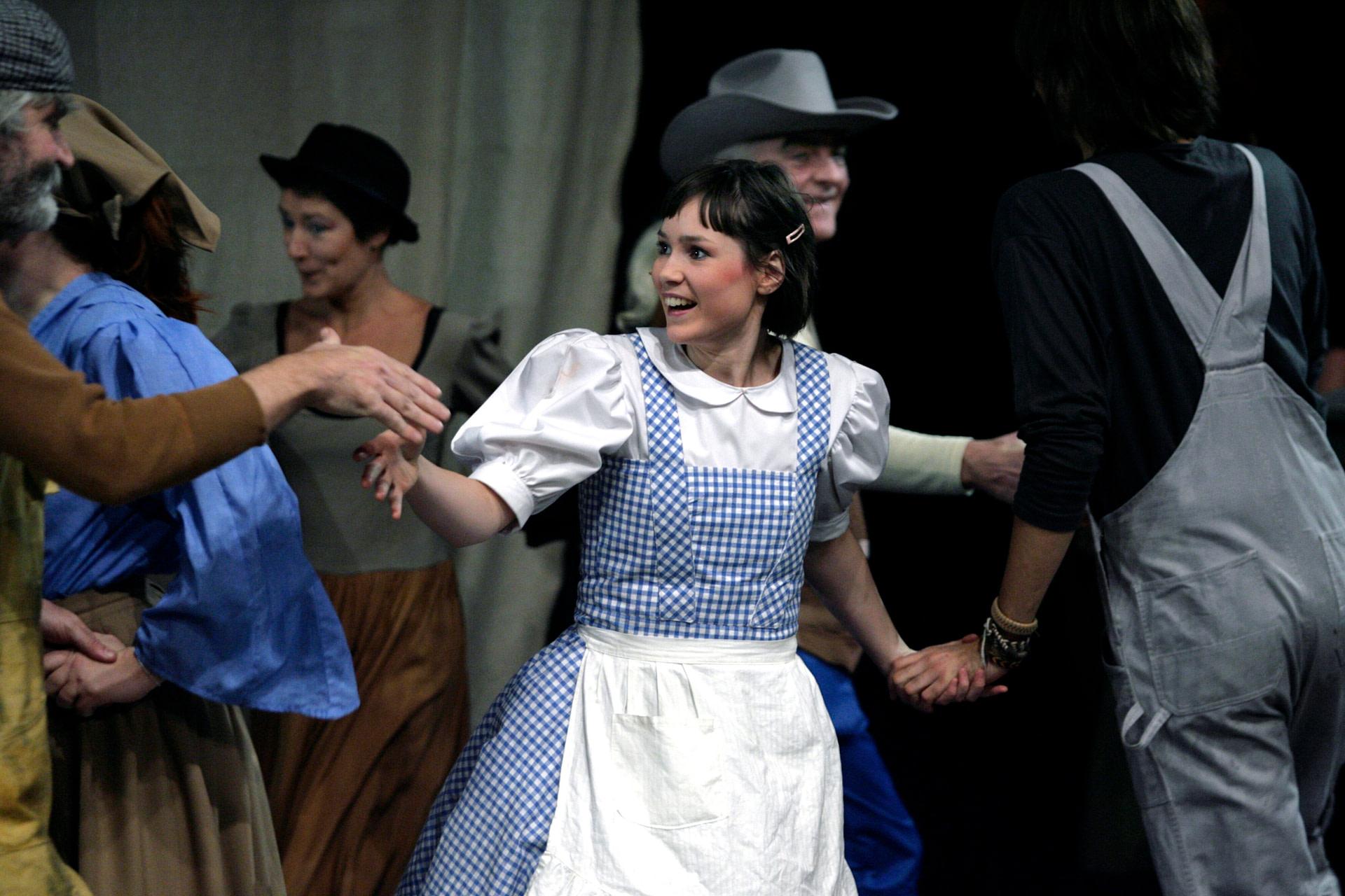 Dorothy Trollkarlen Från Oz